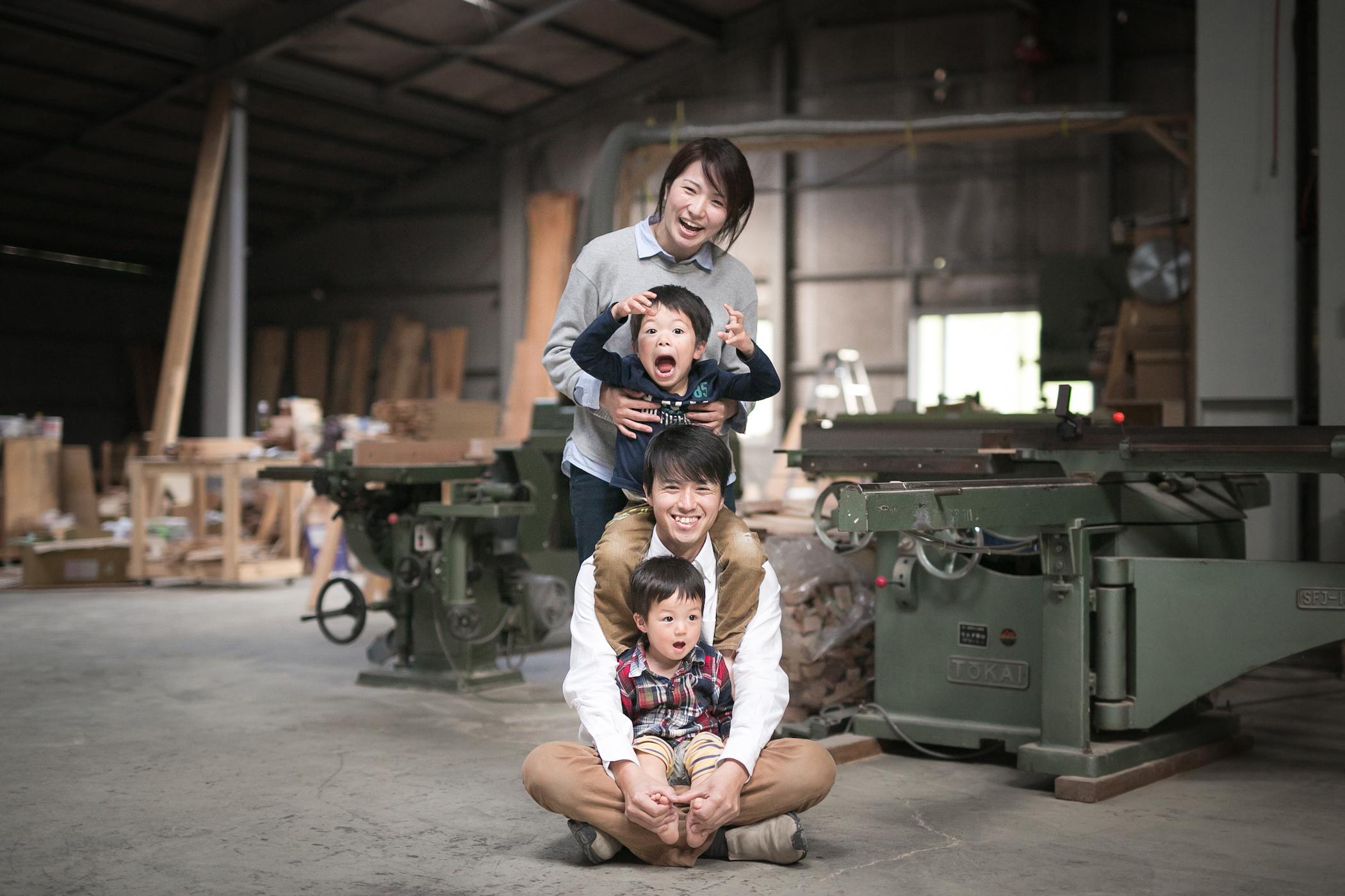 family photo 家族写真