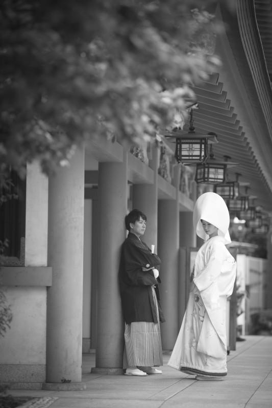 結婚写真 湯島天満宮