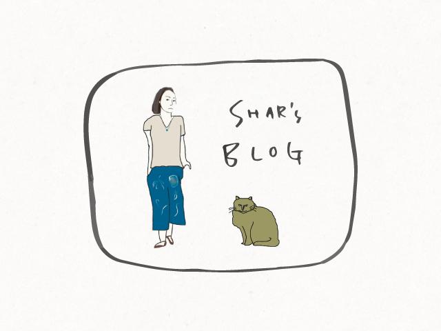 Shar's BLOG